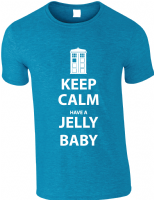 KEEP CALM JELLY BABY - INSPIRED BY DR.WHO